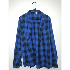 "H&M ""Divided"" Flannel"